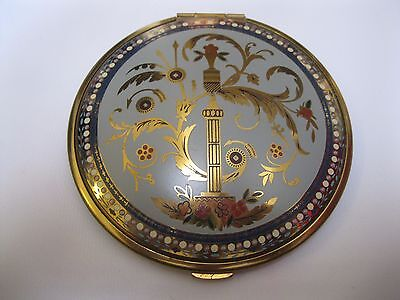 VINTAGE VOLUPTE DOUBLE-SIDED FLAPJACK-SIZED COMPACT