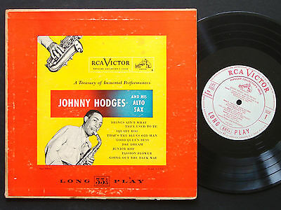 "JOHNNY HODGES And His Alto Sax 10"" LP RCA VICTOR LPT 3000 DG MONO Duke Ellington"