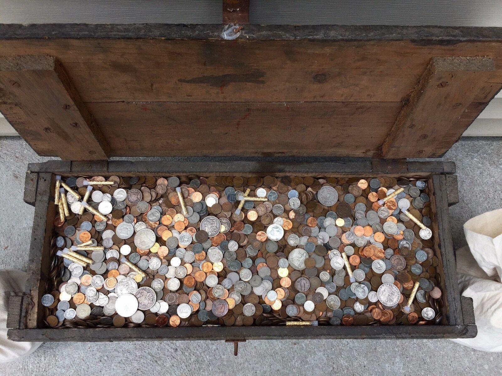 $ SILVER BULLION MIXED US COIN GOLD ESTATE LOT SALE MONEY HOARD  SET LIQUIDATION