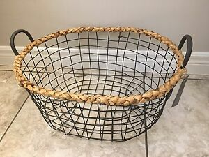 MOVING- Band New Storage Basket - Must Go Asap