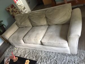 Great microfiber beige couch