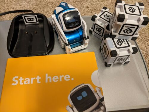 Anki Cozmo Robot Toy - Limited Edition blue