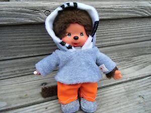 Kleidung PULLI + HOSE + SCHUHE für MONCHICHI Gr.20 Hoodie Kapuzenpulli grau Leo