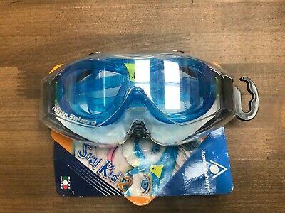 Aqua Sphere Seal Kid 2 - Clear Lens Scuba Mask Goggles (Aqua Sphere Seal Kids Goggles)
