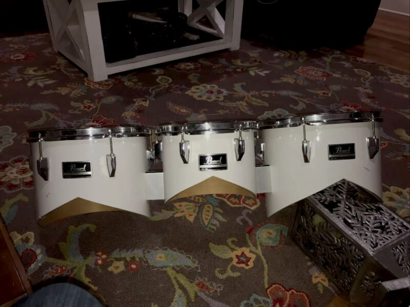 Pearl Marching Percussion Tom Trio