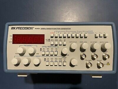 Bk Precision 4040a 20mhz Sweepfunction Generator