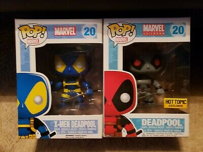 Funko Deadpool Twin Pack (X-Men Variant And Hot Topic Variant)