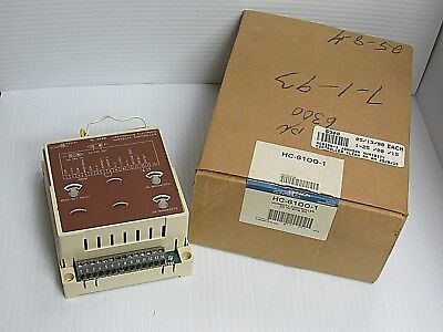 Johnson Controls Humidity Controller Hc-6100-1 Hc6100 Rev C 30-80 Rh 27-5244-36