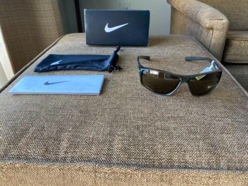Nike Adrenaline Sunglasses EVO 605-330 Khaki Frames Green Max Optics Lens New