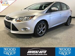 2014 Ford Focus SE SE SPORT WITH HEATED LEATHER SEATS AND LOT...
