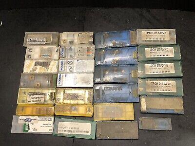 Lot Of Carbide Insert Tools Used Unused