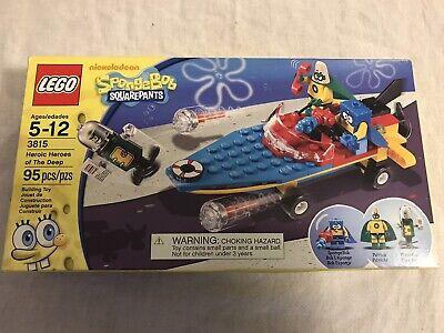 Lego SpongeBob Squarepants 3815 - Heroic Heroes Of The Deep - COMPLETE