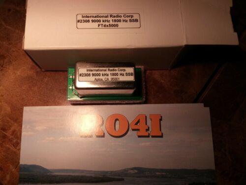 Inrad Filter 1800 Hz 9000 kHz