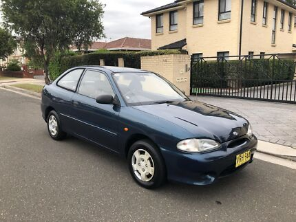 1998 Hyundai Excel Twin Cam Sprint Hatchback 4 Speed Automatic Low Kms