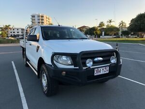 2012 Ford Ranger Dual Cab 4X4 Turbo Diesel 6 Speed Manual  3.2L Southport Gold Coast City Preview