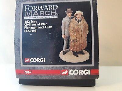 Flanagan and Corgi Forward March 1:32 Die Cast Figure Civilians At War