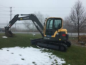 ECR88D Volvo Mini X 2012 blow out price  3000 hours London Ontario image 1