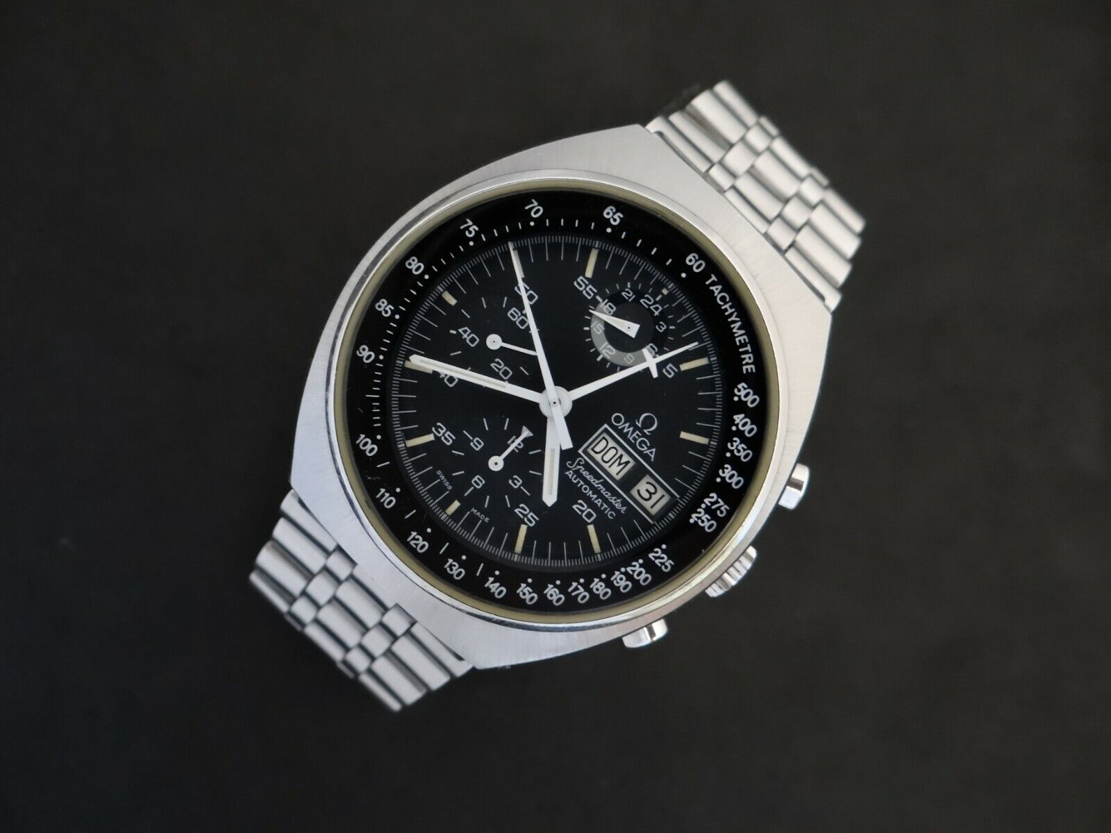 VINTAGE OMEGA SPEEDMASTER MARK 4.5 CHRONOGRAPH AUTOMATIC REF 176.0012 NEAR MINT - watch picture 1