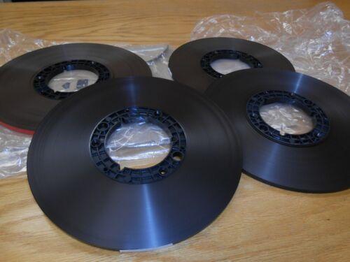 "NAB Hub with used 1/4"" analog audio tape 25 to 28 minutes"