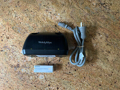 Welch Allyn Desk Charger 7114x With Power Cord And 72200 Battery