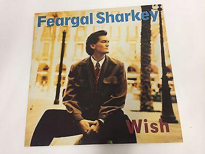 Feargal Sharkey - Wish - Vinyl LP - 1988 Virgin V2500, EX+/EX
