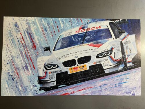 BMW M3 Coupe DTM Race Car Print, Picture, Poster RARE!! Awesome L@@K