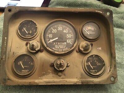 MS24543-2 // 7728855 Mutt M151//A1//A2-24v Temperature Gauge Jeep