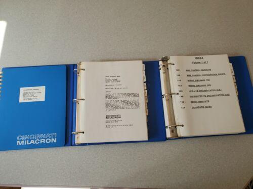 Set of 3 Cincinnati Milacron Acromatic 850TC Manuals
