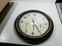 SkyNature Outdoor Clocks, 18 Inch Large Indoor Outdoor Wall Clock Waterproof