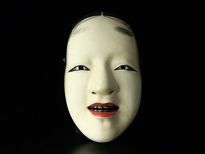 Free shipping Noh mask ZO-ONNA Noh Bugaku Gigaku Kyougen Japanese