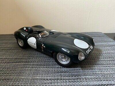 Autoart 1/18 Scale Jaguar D Type Short Nose Green #92 Die Cast Model