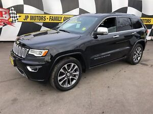 2017 Jeep Grand Cherokee Overland, Navi, Leather, Pan Sunroof, 4