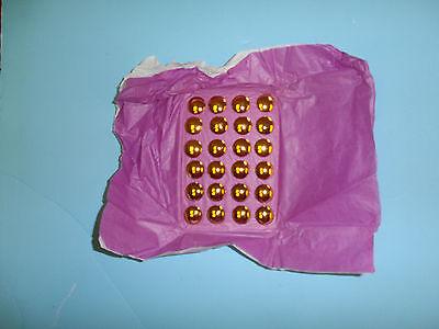 B8084 WWI German Blue Dress Uniform gold Button Set (24) Waffenrocknope