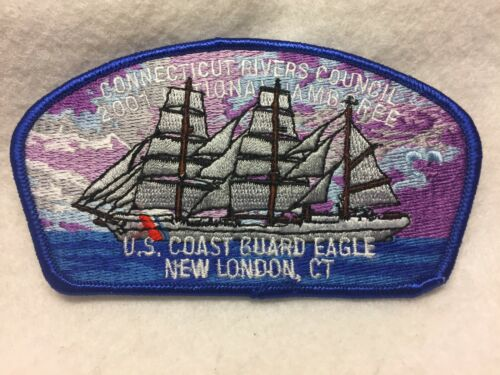 (mr7) Boy Scouts-  2001 National Jamboree - CRC - U.S. Coast Guard EAGLE jsp