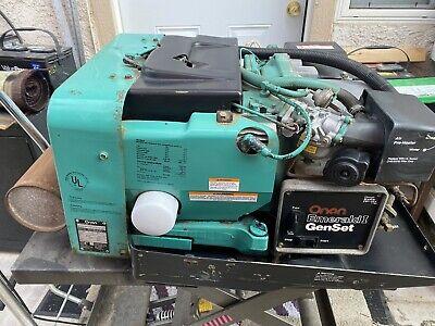Onan Generator 4000 Watt Emerald 1 Rv Motorhome Generator 4000 Watts