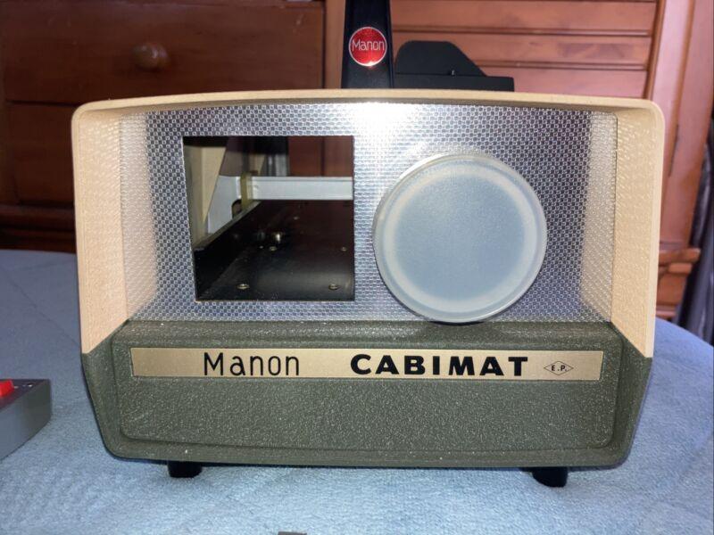 Vintage Cabimat Cabin Automatic Slide Projector 35