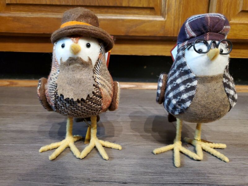 Featherly Friends 2017 Fall in Leaves Hazel/Copper NEW with tags