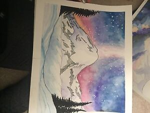 Selling art to go take a university of Calgary tour
