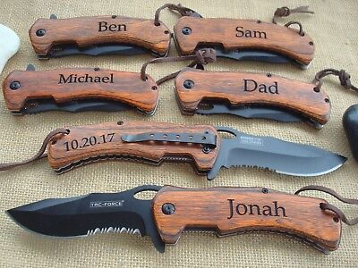 Personalized Knife,Groomsmen Gift, Best Man  Knife, Custom knife. Groomsman