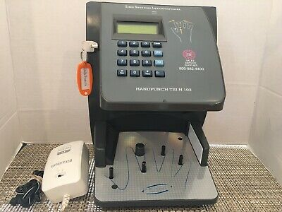 Schalage Hp-3000 Biometric Hand Punch Time Clock Tsi H 103. Free Shipping