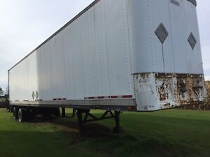 48 foot trailer for storage