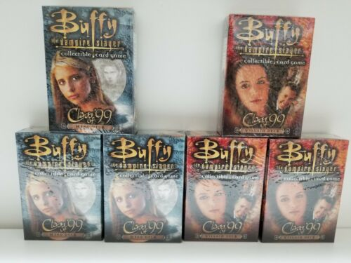 Buffy the Vampire Slayer Class of 99 Deck Villain and Hero deck LOT of 6 BOX