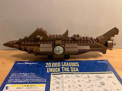 Tokyo Disney sea japan 20.000 leagues under the sea Nautilus figure lego block