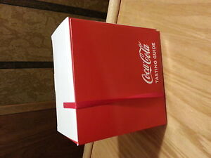 Limited edition Coca Cola tasting guide kit