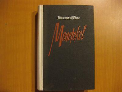 Menetekel oder die Fliegenden Untertassen, Friedrich Wolf, Roman, 1952