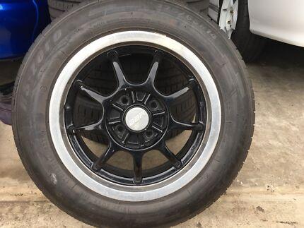 "Mag wheels 14"""