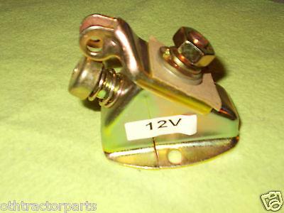 593292c1 Ih Farmall Push Button Starter Switch 6 12 Volt A Av B C Cub 100 Usa