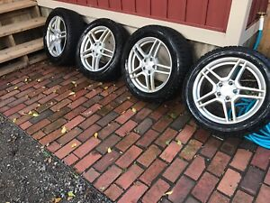 225/50R17  &  225/55 R17  Winter tires on Aluminum Rims