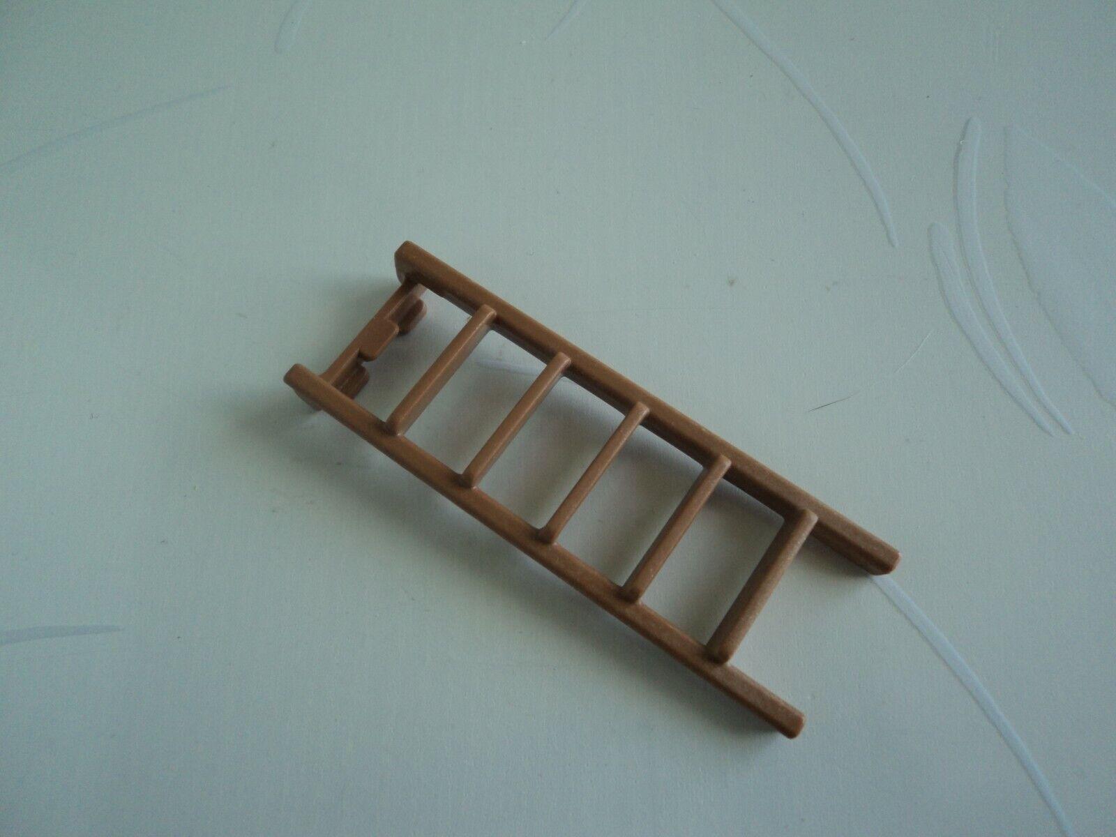 Playmobil vintage échelle marron pour lits superposés chambre enfants 5311 /1990