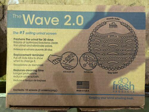 Fresh- Wave 2.0 Urinal Deodorizer Screen, Cucumber Melon Fragrance 10 Screens